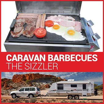 caravan barbecues - the sizzler