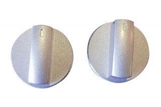 control-knob-silver-pair