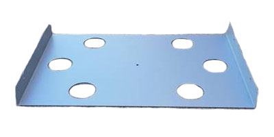 Slide BASE top ONLY Electro-Galvanised Steel (Sizzler Max) |