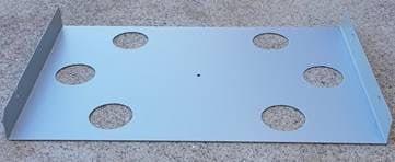 Slide BASE top ONLY Electro-Galvanised Steel |